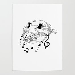 Bearly a Music Box Poster