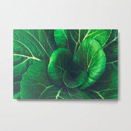 green is life #buyart #society6 Metal Print
