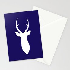 Stag Navy Stationery Cards