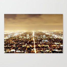 Night scene  Canvas Print
