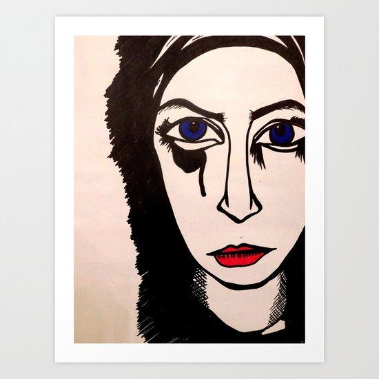 angry me Art Print