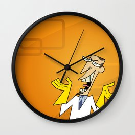 Clone High - Principal Scudworth Wall Clock