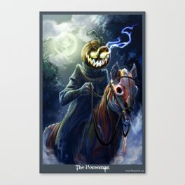 The Horseman Canvas Print