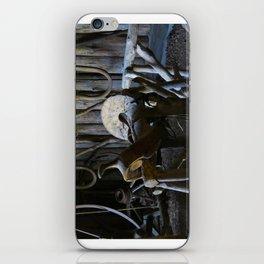 Rustic Saddle iPhone Skin