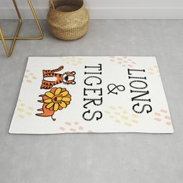 Lions & Tigers Rug