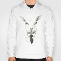 lamb Hoodies featuring Lamb by David Cristobal