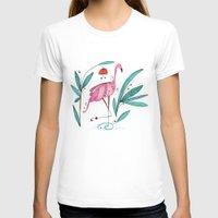flamingo T-shirts featuring Flamingo by huemula