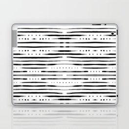 B&W Shibori #society6 #shibori Laptop & iPad Skin