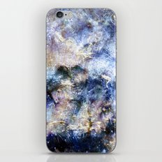 Blue Textures iPhone & iPod Skin
