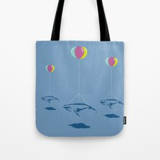 Whale Riders! Tote Bag