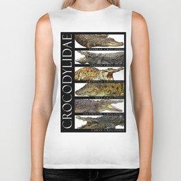 Crocodiles of the World Biker Tank