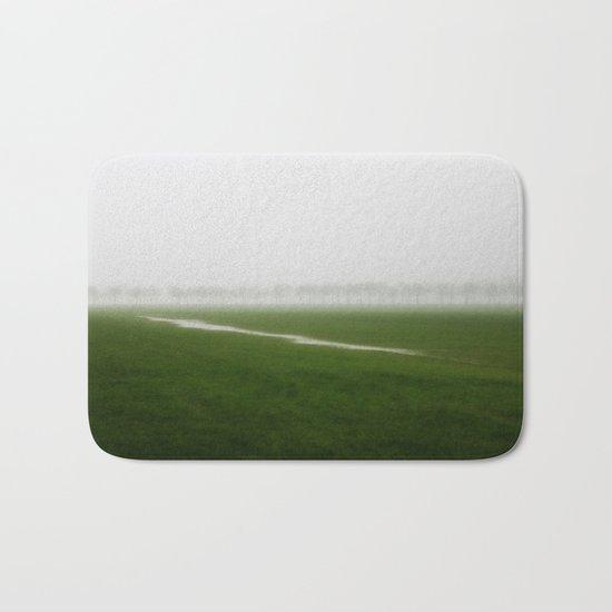 Foggy Landscape - JUSTART © Bath Mat