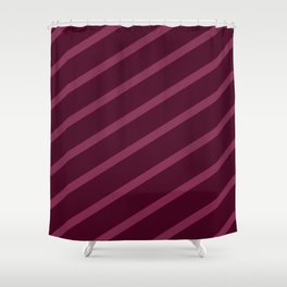 Cross Hatched 3 Shower Curtain