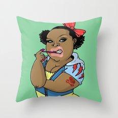 SJOKOLADE_1 Throw Pillow
