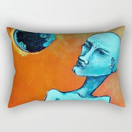 Planetary Scope Rectangular Pillow