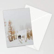 Walking in Larch Land Stationery Cards