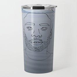 wavy childish gambino Travel Mug