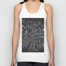 WOLVES OF PERIGORD Unisex Tank Top