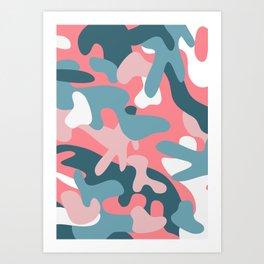 Camouflage 05 Art Print
