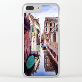 Get Lost In Venice Clear iPhone Case