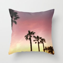 disappear here Throw Pillow
