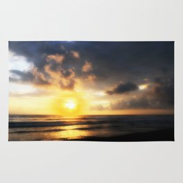 Sunset on Playa Dominical Rug