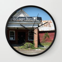 Old Country Store | Western NC Wall Clock