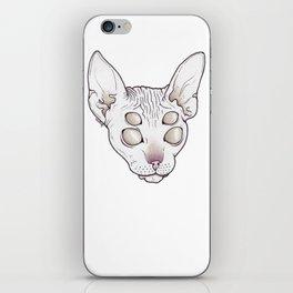Alien Kitty iPhone Skin