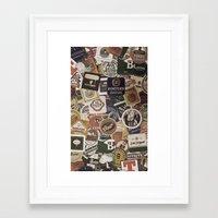 beer Framed Art Prints featuring Beer by Nicklas Gustafsson
