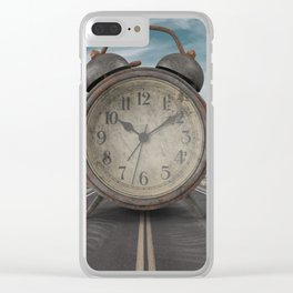 A Matter of Time Surreal Clear iPhone Case