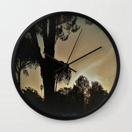 evening in Sardinia Wall Clock
