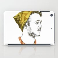 indie iPad Cases featuring Indie Boy by Anne Dippy