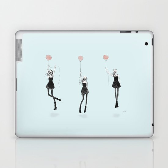 Girls Afloat Laptop & iPad Skin