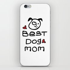 Best dog mom iPhone & iPod Skin