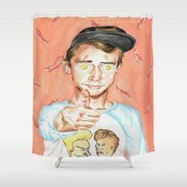 Get Fried Shower Curtain