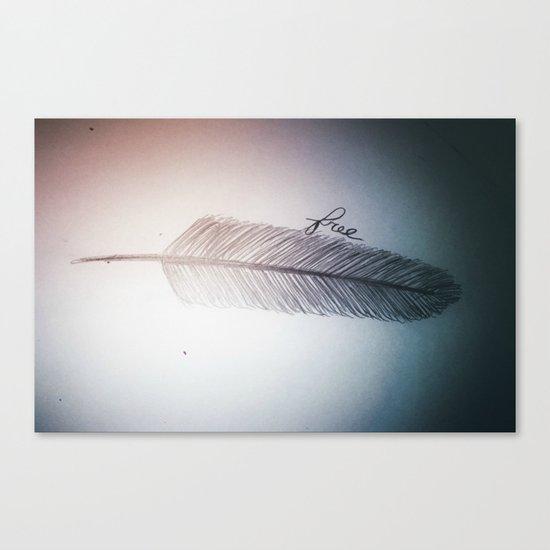 Free (design 2) Canvas Print