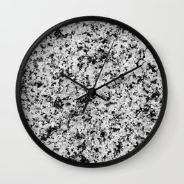Speckled Marble Wall Clock
