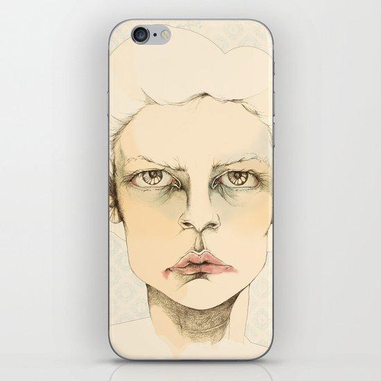 """portrait of anybody"" iPhone Skin"