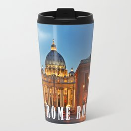 SAINT PETER'S CATHEDRALE in ROME Travel Mug