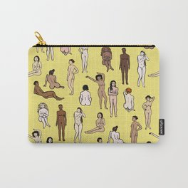 Nudes - Yellow Carry-All Pouch