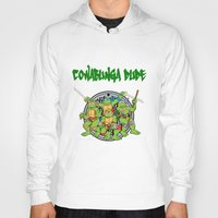 teenage mutant ninja turtles Hoodies featuring Teenage Mutant Ninja Turtles  by CaitlinNicole