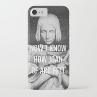 smiths iPhone & iPod Cases featuring Joan of Arc by Anna Dorfman
