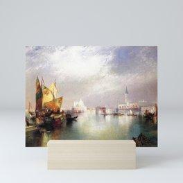 The Splendor of Venice, Italy landscape painting by Thomas Moran Mini Art Print