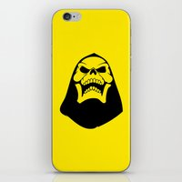skeletor iPhone & iPod Skins featuring Skeletor. by Glassy