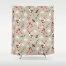 Xmas Pattern #socieyt6 #buyart Shower Curtain