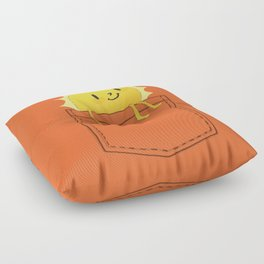 Pocketful of sunshine Floor Pillow