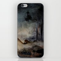imagerybydianna iPhone & iPod Skins featuring at the close by Imagery by dianna