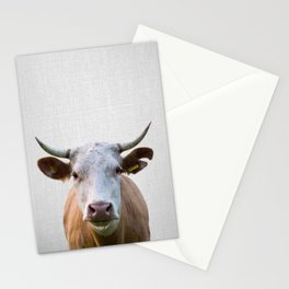 Cow - Colorful Stationery Cards