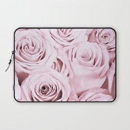 Pink Roses Flowers - Rose and flower pattern Laptop Sleeve
