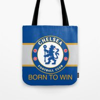 chelsea Tote Bags featuring Chelsea by DeBUM